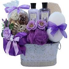 lavender gift basket lavender renewal spa relaxing bath and gift basket set