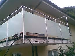 glas balkon balkongeländer collection on ebay