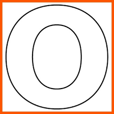 letter o template preschool google search projects to try