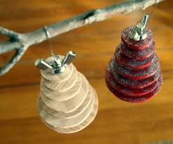 rummy diy ornament ideas book page and to noble handpring tree