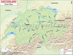 map of germany showing rivers river map