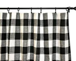 Red And White Buffalo Check Curtains Navy Buffalo Check Curtains Classic Shower Curtains 100 Cotton