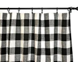 Gingham Nursery Curtains Buffalo Check Curtains Etsy