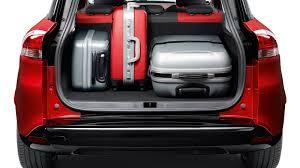 lexus suv boot space new renault clio estate auto review