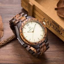 gift for men uwood mens wooden watches solid wood gift for men