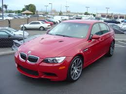 Bmw M3 Red - picked up 08 melbourne red e90 m3 sedan last night