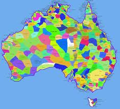 map of australia political cities map australia mapsof net