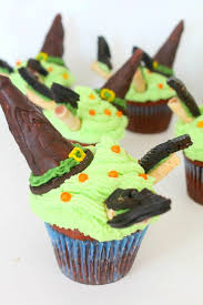 wicked witch halloween cupcakes recipe