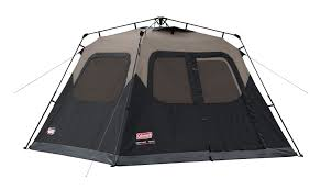 cabin tent coleman 6 person instant cabin tent ca sports outdoors