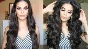 glamorous hair extensions big glamorous curls hair