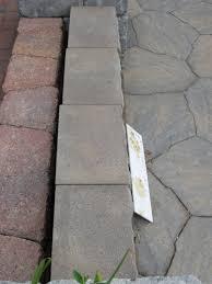 Interlocking Concrete Blocks Lowes by Retaining Wall Stones Patio Pavers Home Depot 16x16 24x24 Concrete