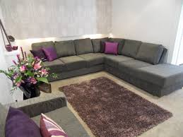stunning purple and grey living room decorating ideas purple room