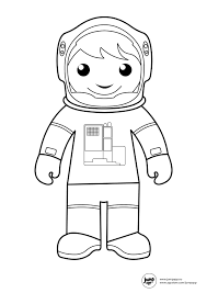 astronaut printable coloring pages pinterest astronauts