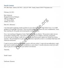 teaching consultant cover letter special education teacher