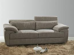 canapé 3 2 places tissu canapé 2 places fixe tissu meuble et déco