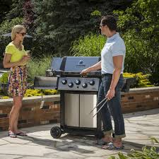 broil king signet 90 3 burner freestanding natural gas grill with