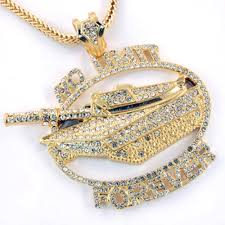 chain necklace hip hop images Hip hop cz crystal stone no limit tank pendant 36 franco chain jpg