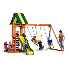 shop backyard discovery prestige residential wood playset with