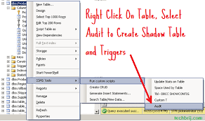 Sql Server Audit Table Changes Implement Audit Trail Quickly For Microsoft Sql Server Techbrij