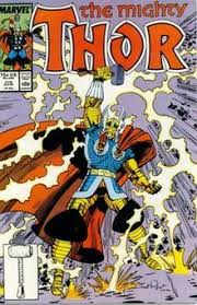 thor marvel comics wikipedia