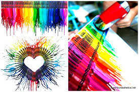 design art video smart diy melted crayon art project adding color to any decor video