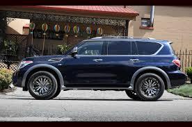 nissan midnight blue 2018 nissan armada platinum reserve debuts in texas motor trend