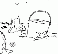 ocean scene coloring page coloring home