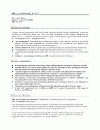 Nursing Resume Examples With Clinical Experience by Nurse Resume Services