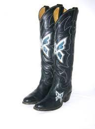 womens cowboy boots size 9 1 2 vintage hyer cowboy boots mens size 9 d rockabilly orange