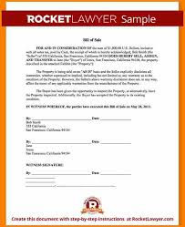 7 business bill of sale form free download simple bill