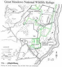 Property Line Map Carlisle Trails Committee Great Meadows National Wildlife Refuge