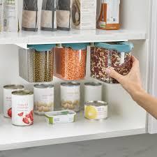 kitchen food storage cupboard cupboard store food storage set of 3 1 3l opal