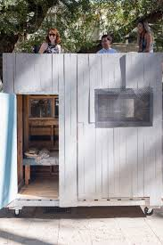 students create tiny home for madworkshop auction to benefit the