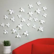 umbra white wall flowers decorating tips u0026 ideas pinterest