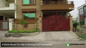 home design 6 marla 6 marla house for sale in korang town islamabad youtube