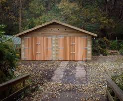 Barn Style Garage by Warwick Garages Warwick Garage Timber Garages Workrooms