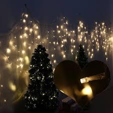 amazon com leorx 216 led icicle lights 8 modes indoor u0026outdoor