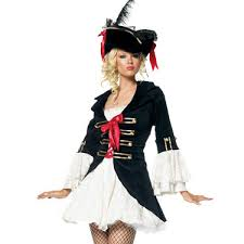 Female Pirate Halloween Costumes Cosplay Ponytail Picture Detailed Picture Female