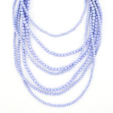 multi bead necklace images Multi layered beaded necklace lavender beaded strands by jpg