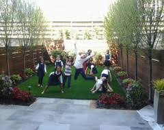 Townhouse Backyard Ideas Brooklyn Nyc Townhouse Garden Design Backyard Artificial Turf