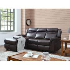 canapé d angle relax habitat et jardin canapé d angle relax chelsea 3 places marron