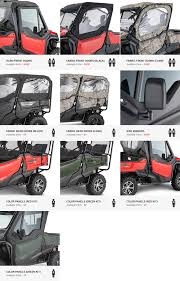2016 honda png 2016 honda pioneer 1000 optional doors u0026 accessories honda
