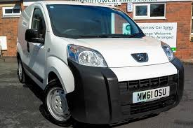 peugeot bipper van for sale 2012 61 peugeot bipper 1 3 hdi s panel van 52k miles no