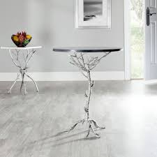 Silver Accent Table Fox2512b Accent Tables Furniture By Safavieh