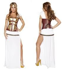 Gladiator Halloween Costume Ladies Greek Gladiator Warrior Goddess Roman Halloween