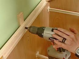 best way to install base cabinets how to install a new cabinet how tos diy