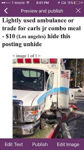 Ambulance Meme - meme lightly used ambulance for sale ems