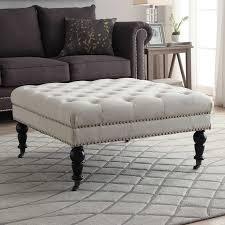 Ottoman Table Combination Table Ottoman Furniture Rectangular Coffee Table Combo Top Large