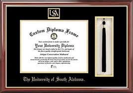 of alabama diploma frame of south alabama diploma frame and tassel