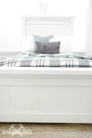 Farmhouse Bed Plans Farmhouse Bed Iu0027m Leaning Toward The Panel Bed Sheu0027s A